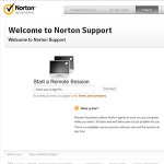 Remote Session with Norton Link
